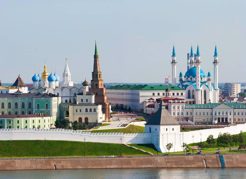 Казань где находится
