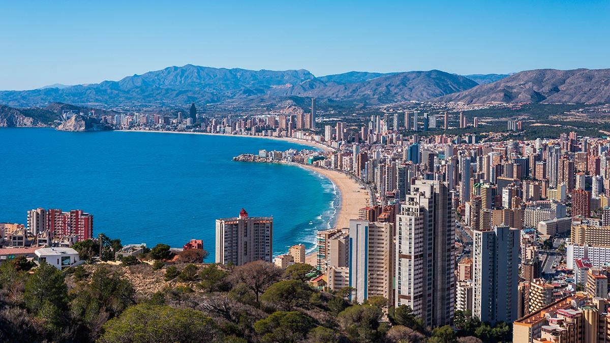 Бенидорм - Коста-Бланка, Испания, отдых в городе Бенидорм: фото и видео, пляжи