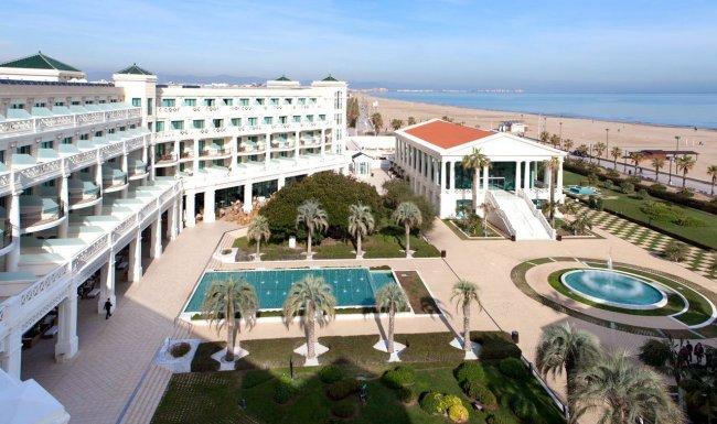 Отель Las Arenas Balneario Resort развлечения валенсии Валенсия las arenas balneario resort