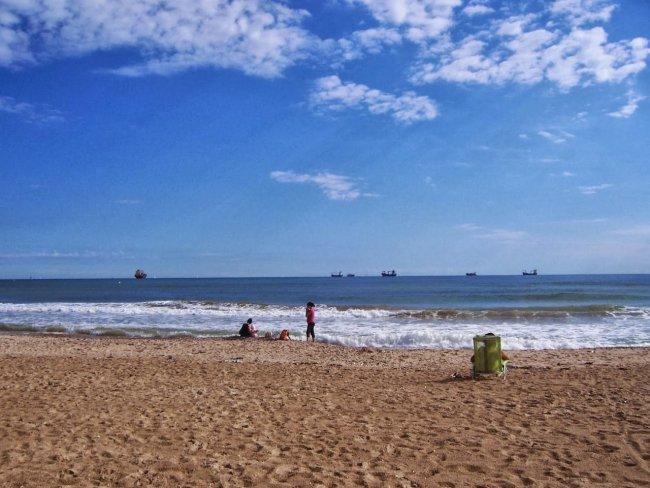 Пляж El Saler развлечения валенсии Валенсия valencia el saler