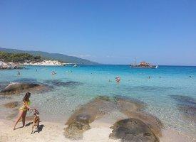 Пляж Орандж на Халкидиках