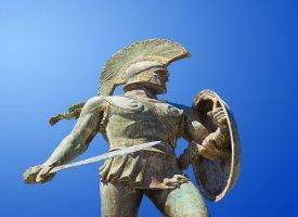 Статуя царя Леонида