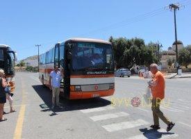 Автобус компании KTEL