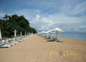 Пляж Санур на острове Бали