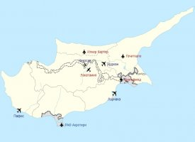 Аэропорты Кипра