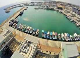 Порт в городе Лимассол