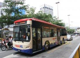 Городской автобус в Куала-Лумпуре