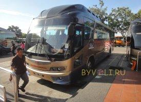 Автобус из аэропорта Куала-Лумпур в Малакку