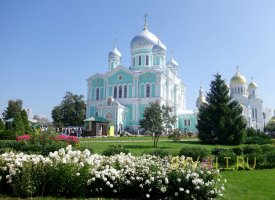 Главные храмы Серафимо-Дивеевского монастыря