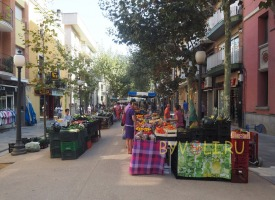 Рынок в Бланесе