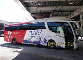 Автобус из аэропорта Барселоны в Салоу