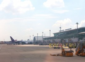 Терминал международных рейсов аэропорта Таншоннят