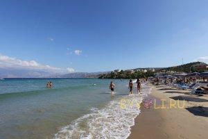 Пляж Альмирос, рядом с Агиос Николаос