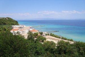 Вид на пляж Калифея