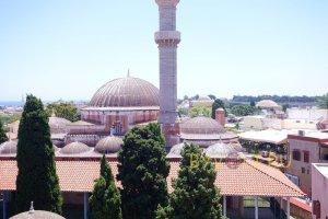 Мечеть Сулеймана в Старом городе Родос