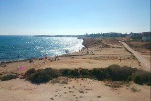 Пляж Катсарка в Айя-Напе