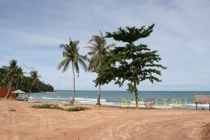 Пляж на мысе Ган Дау
