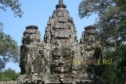 Ворота в Ангкор Том