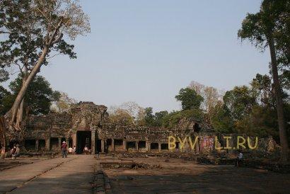 Храм Преах Кхан в Ангкоре