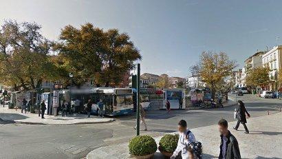 Автовокзал Блю Бас на площади Сан Рокко