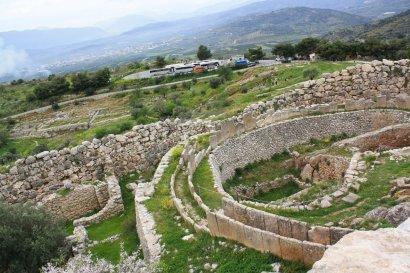 Город Микены на Пелопоннесе