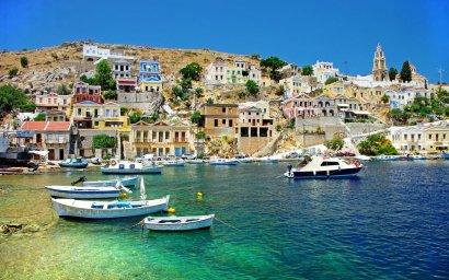 Остров Сими в Греции