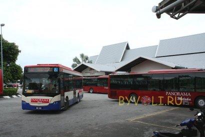 Автовокзал в Малакке