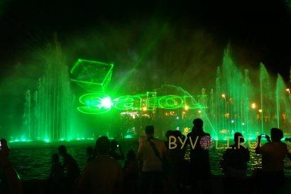 Кибернетический фонтан в Салоу