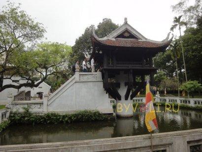 Пагода на одном столбе в Ханое