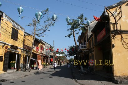 Старый город в Хойане