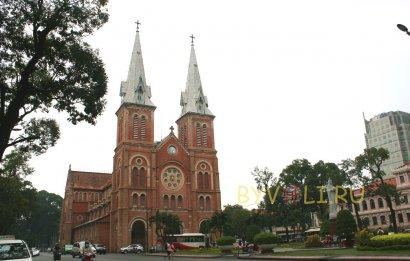 Нотр Дам - кафедральный собор в Хошимине